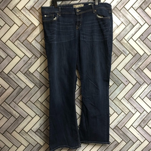BKE Wendi Dark Wash Bootcut Jeans Size 38R